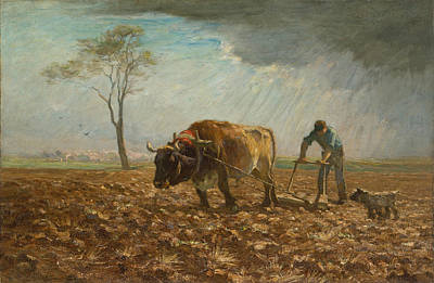 Painting - The Harrower by Horatio Walker
