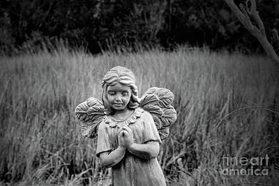Photograph - The Harvest Angel by Gazie Nagle