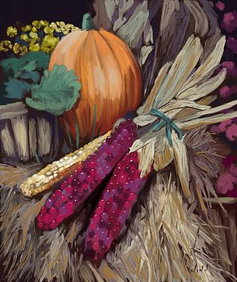 Digital Art - The Harvest by Brett Winn