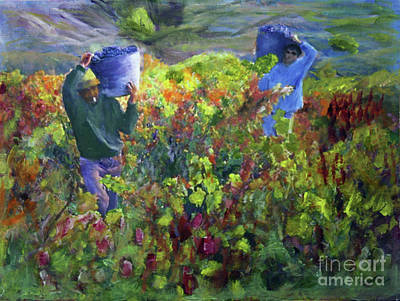 Painting - The Harvest by Donna Walsh