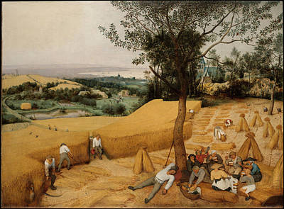 Painting - The Harvesters By Pieter Bruegel The Elder                             by Pieter Bruegel the Elder