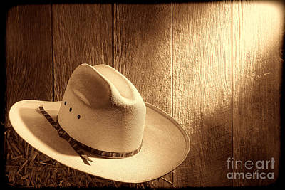 Photograph - The Hat by American West Legend By Olivier Le Queinec