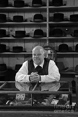 Photograph - The Hat Maker by Inge Riis McDonald