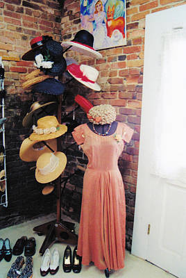 Photograph - The Hat Rack by Jan Amiss Photography