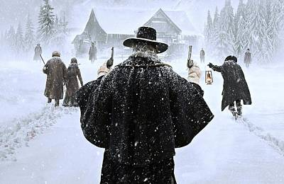 David Drawing - The Hateful Eight by Movie Poster Prints