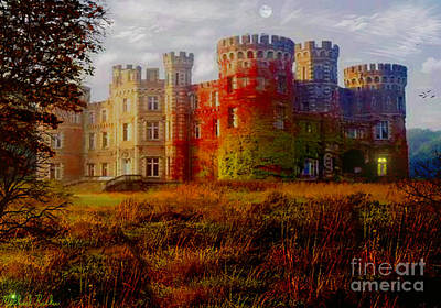The Haunted Castle Original by Michael Rucker