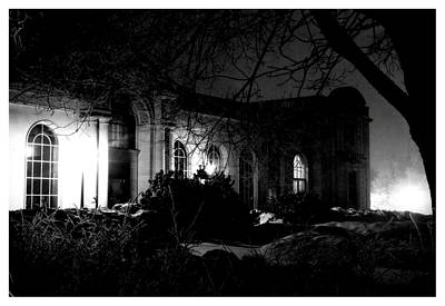 Photograph - The Haunted Mansion by Kyle J West