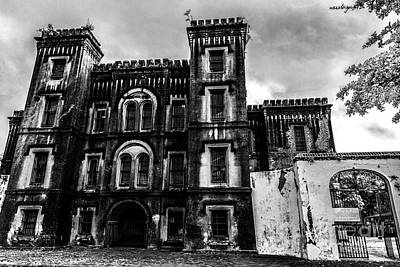 Photograph - The Haunted Old City Jail In Charleston South Carolina  by Dale Powell