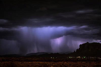 Photograph - The Haunting Beauty Of A Storm  by Saija Lehtonen