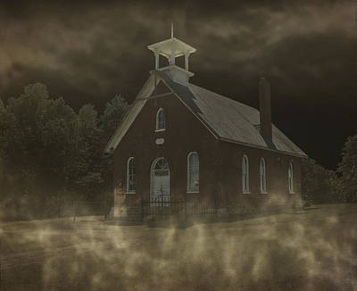 The Haunting Of Schoolhouse 12 Art Print by Emily Kay