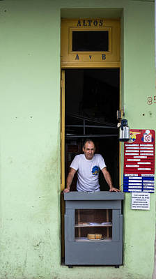Photograph - The Havana Baker by Peter Bates