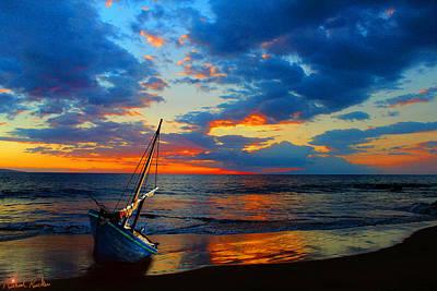 Rucker Photograph - The Hawaiian Sailboat by Michael Rucker