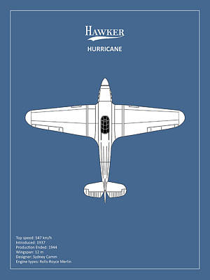 Airplane Photograph - The Hawker Hurricane by Mark Rogan