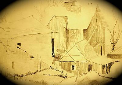 The Hay Loft Art Print