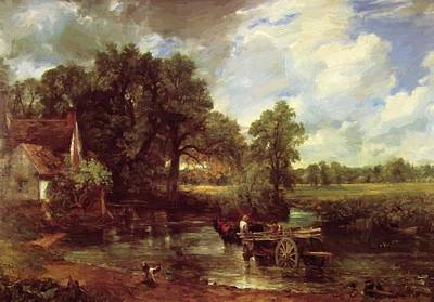 Painting - The Hay Wain 1821 by Constable John
