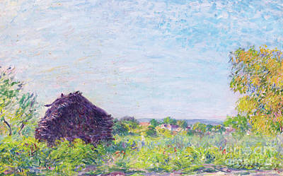 The Haystack, 1877 Art Print by Alfred Sisley