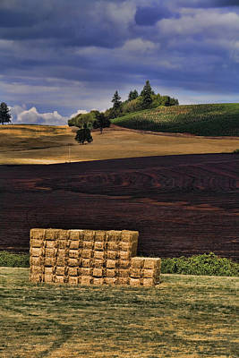 Sunday Drive Photograph - The Haystack by Bonnie Bruno
