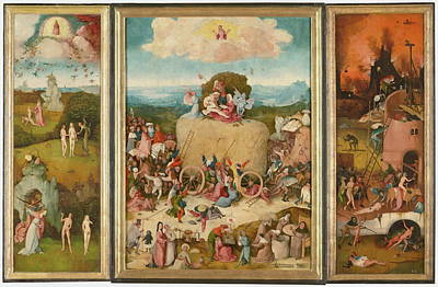 The Haywain Triptych Art Print by Bosch Hieronymus