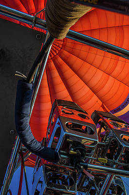 Photograph - The Brain Of The Hot Air Balloon by Judith Barath
