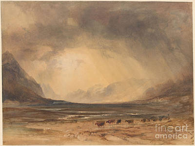 Head Painting - The Head Of Glencoe by Celestial Images
