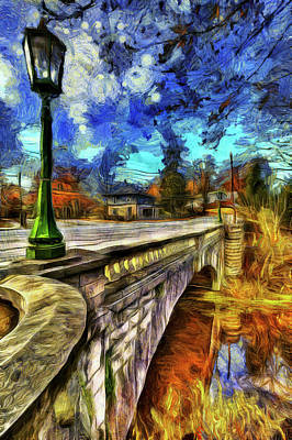 Photograph - The Headless Horseman Bridge Art by David Pyatt