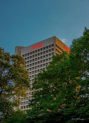 Photograph - The Headquarters The Coca-cola Company Atlanta Georgia by Reid Callaway