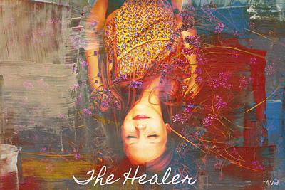 Digital Art - The Healer by Catherine Asoka Void