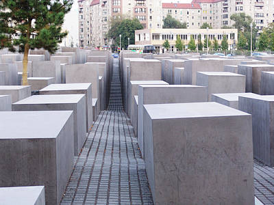 Photograph - The Healing Path Jewish Memorial by Kevin Callahan