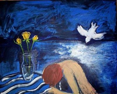 Painting - The Healing by Winsome Gunning