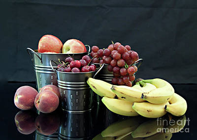Art Print featuring the photograph The Healthy Choice Selection by Sherry Hallemeier
