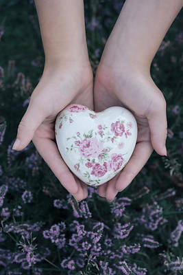 Heather Wall Art - Photograph - The Heart by Joana Kruse