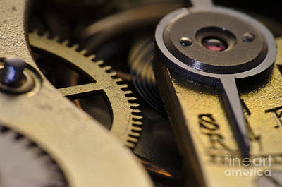 Pocket Watch Photograph - The Heart Of A Watch 2 by Angelo DeVal