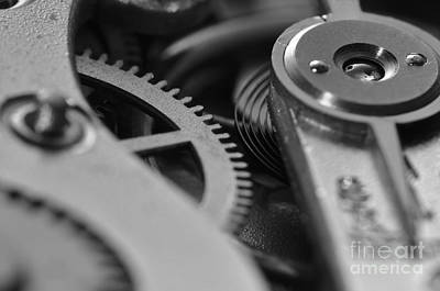 Pocket Watch Photograph - The Heart Of A Watch 3 by Angelo DeVal