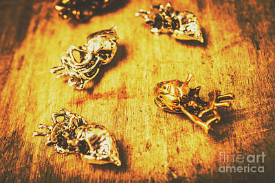 Metal Wall Photograph - The Heart Of Grunge by Jorgo Photography - Wall Art Gallery