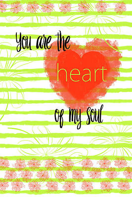 Digital Art - The Heart Of My Soul by Ramona Murdock