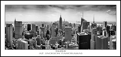 United States Of America Photograph - The Heart Of New York Poster Print by Az Jackson
