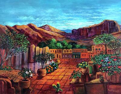 Painting - The Heart Of Old Mexico by Randol Burns