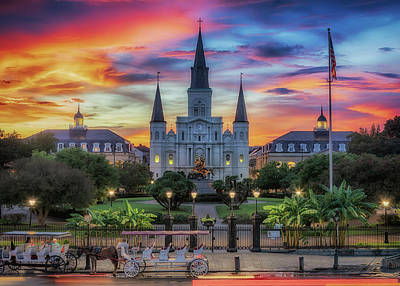 Photograph - The Heart Of Old New Orleans by Susan Rissi Tregoning