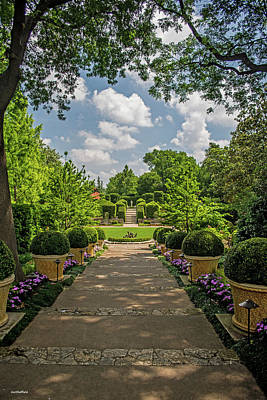 Photograph - The Heart Of The Arboretum by Allen Sheffield