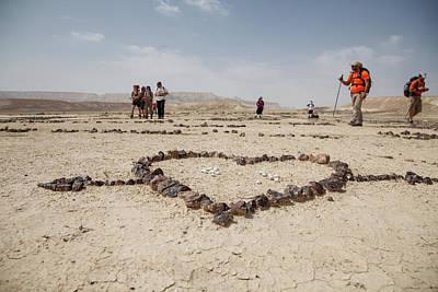 The Heart Of The Desert Art Print