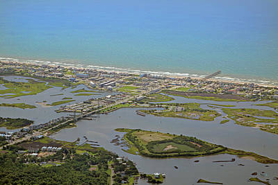 Flying Planes Photograph - The Heart Of Topsail Island by Betsy Knapp
