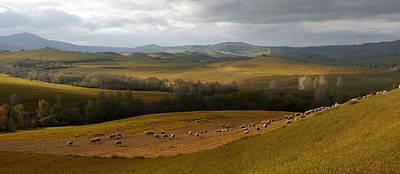 Photograph - The Heart Of Toscany by Jaroslaw Blaminsky