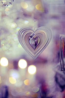 Photograph - The Heart. Rainy Day by Jenny Rainbow