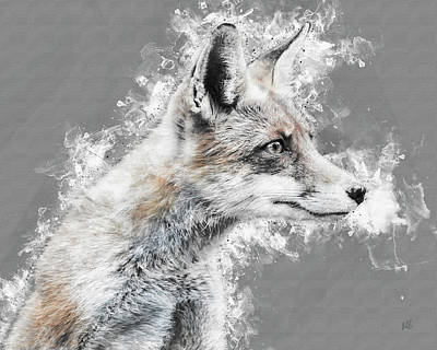 Fox Mixed Media - The Heat Is On by Melissa Smith