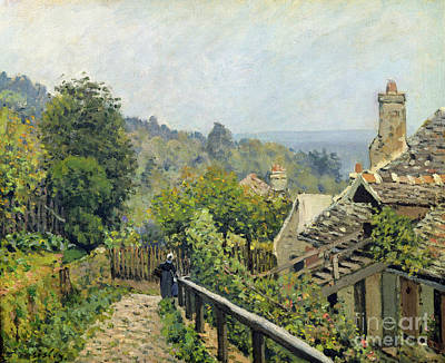 The Heights At Marly Print by Alfred Sisley