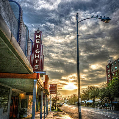 Photograph - The Heights At Morning Light Square by TK Goforth