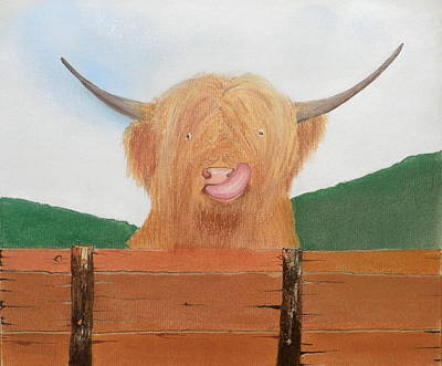 The Heiland Coo Original by Gordon Ogilvie