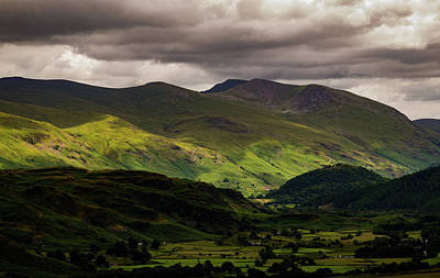 Photograph - The Helvellyn Range by John Collier