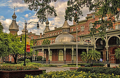 Photograph - The Henry B Plant Museum by HH Photography of Florida