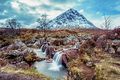 Photograph - The Herdsman Of Etive by John Frid